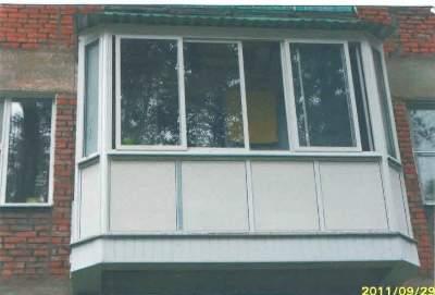 Остекление балконов и лоджий в туле все цены в городе с возм.
